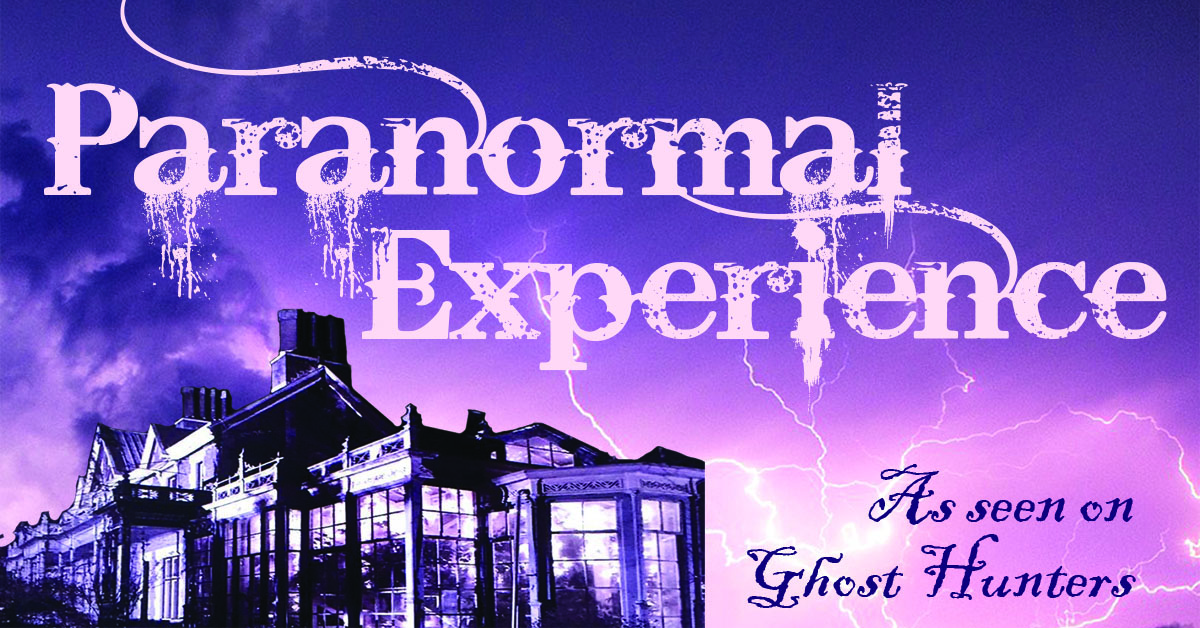 Paranormal Experience at the Rockwood Park.