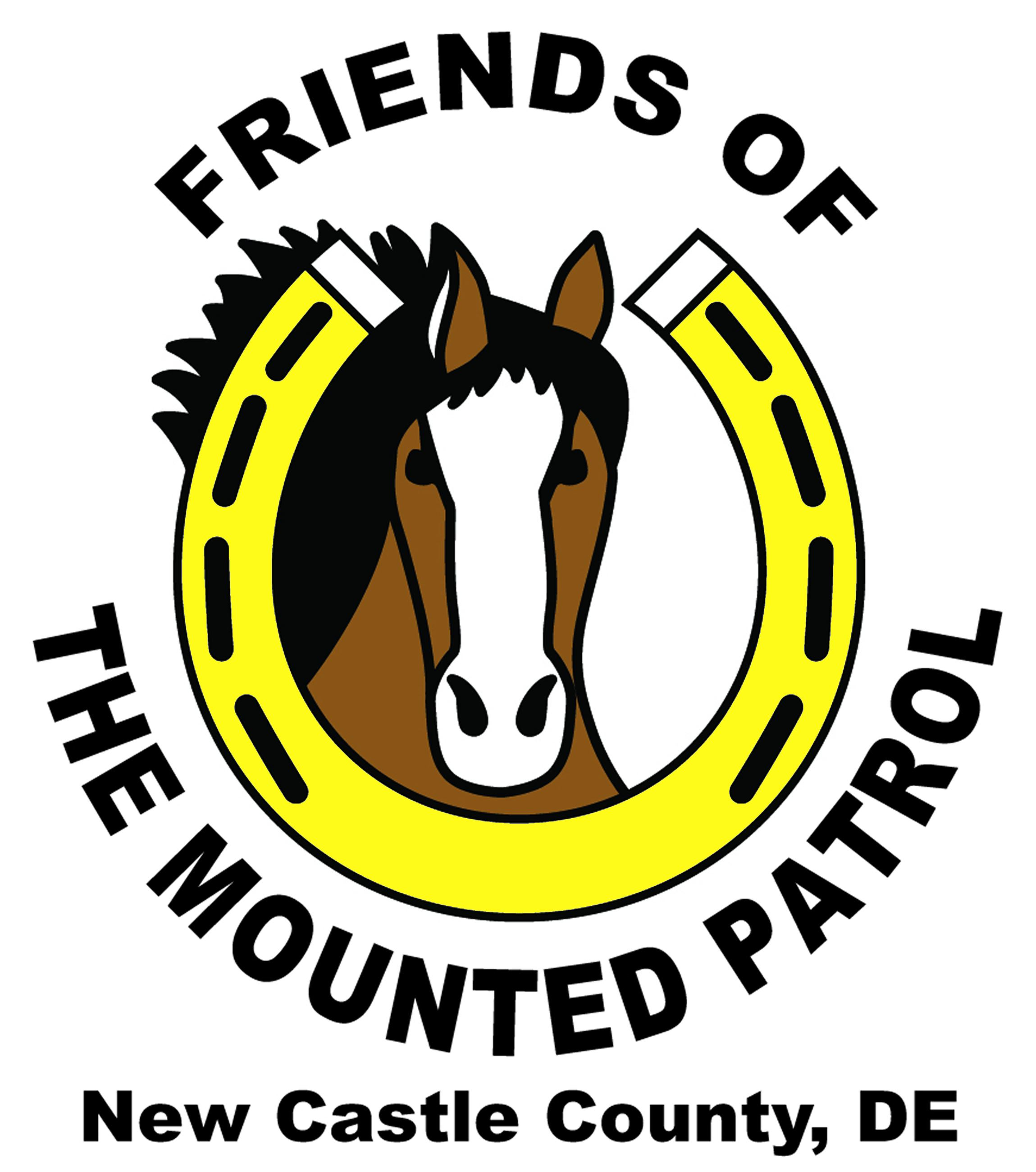 Friends of the Mounted Police Logo