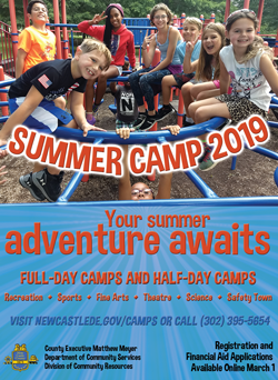 2019 New Castle County Summer Camps