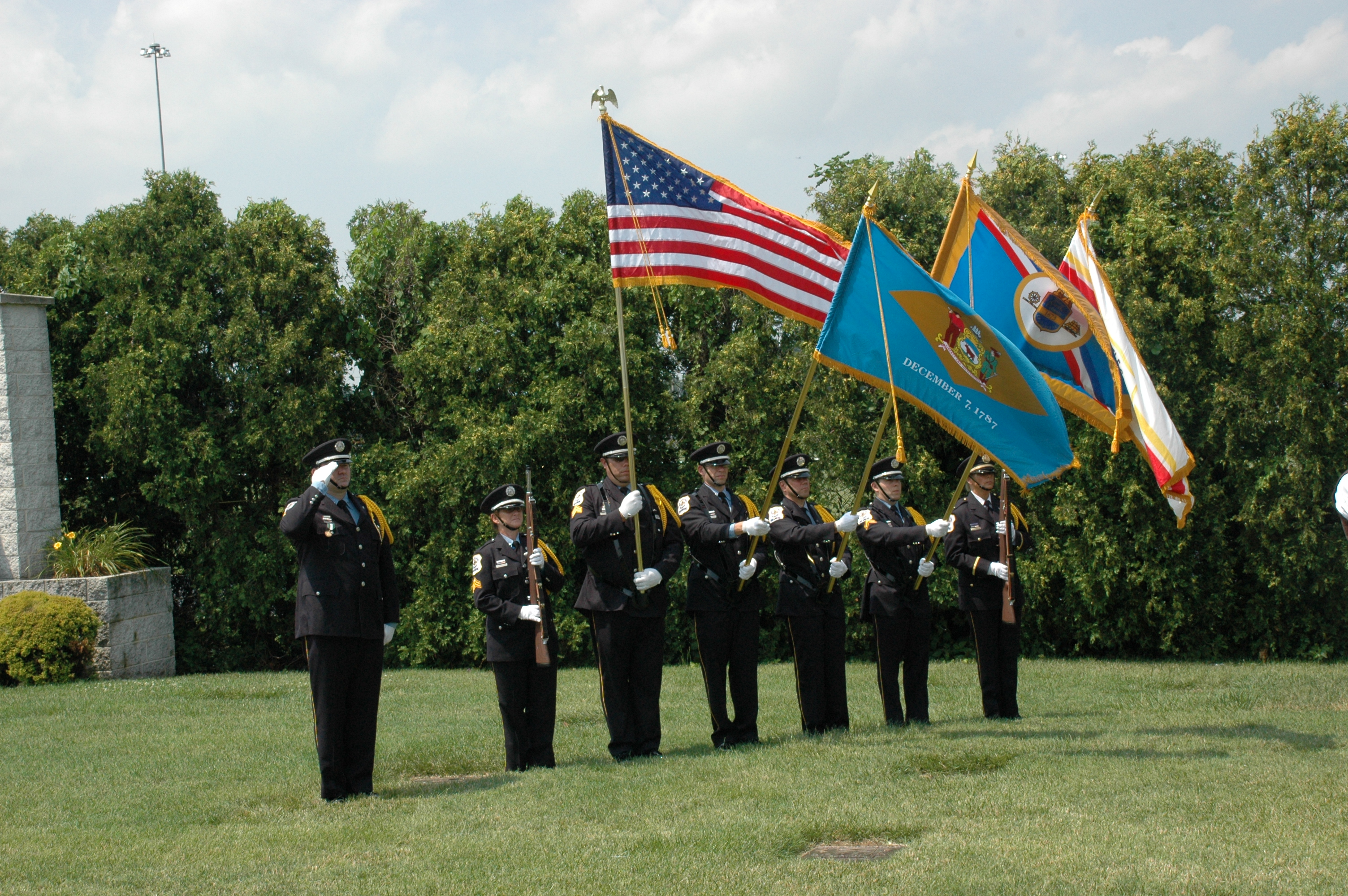 Police Officer Honor Guard