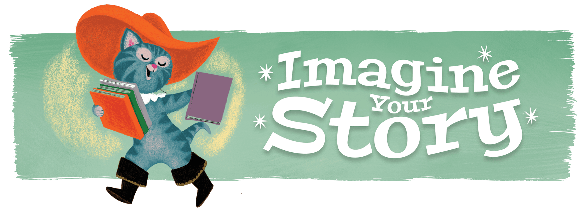 Imagine Your Story - Summer Reading Banner